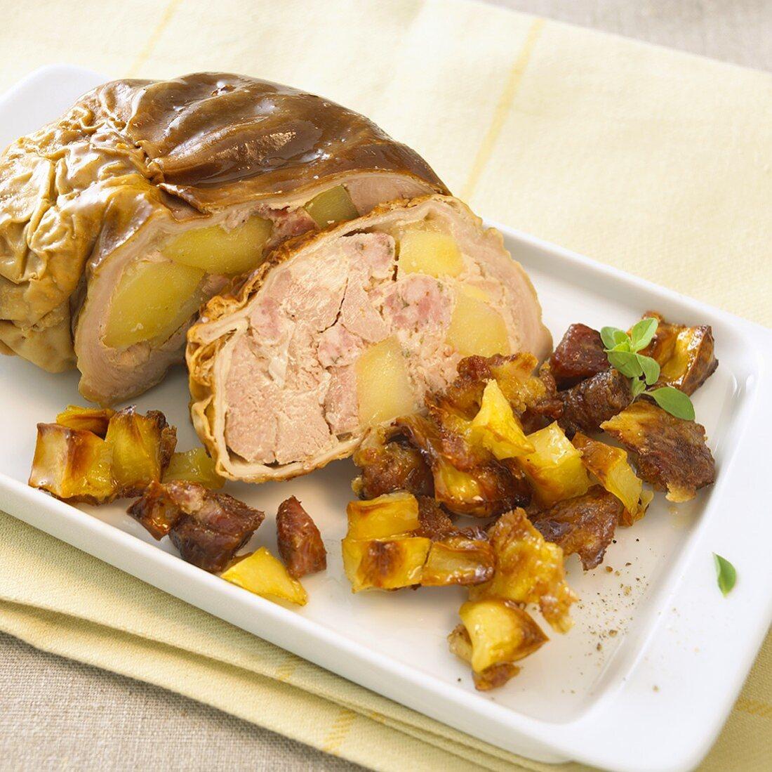 Saumagen (Stuffed pig's stomach)