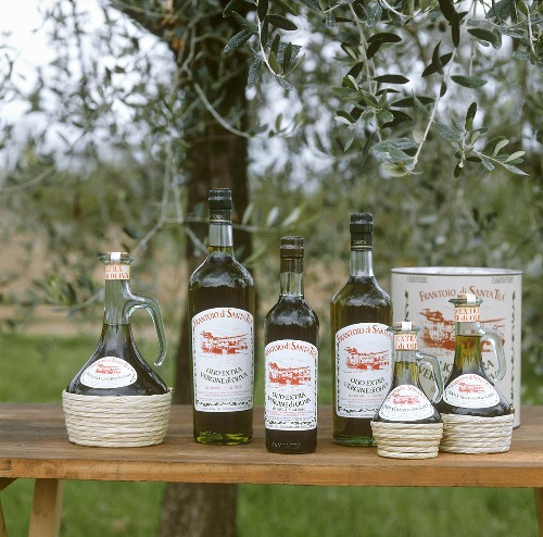 Assorted Olive Oils from Tuscany