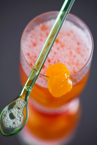 Morning Glory Cocktail (Angostura, cherry brandy, Cointreau)
