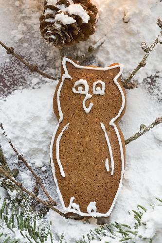 Gingerbread owl