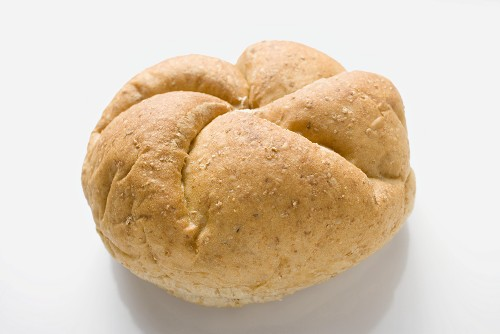 A wholemeal roll