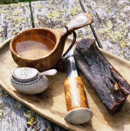 Rohschinken und handgefertigte Produkte aus Lappland