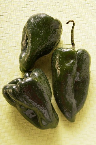 Small peppers (Poblano from Mexico)