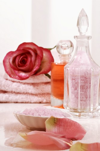 Rose-scented products for wellness