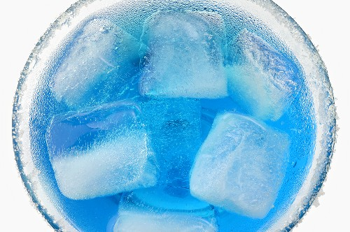 Bastille Bomb (aperitif) with ice cubes