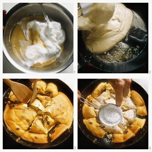 Preparing emperor's pancake