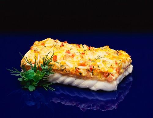 Fish Fillet au gratin