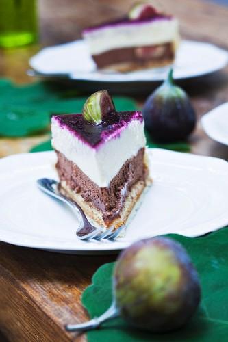 Fig cake by Christoph Vogel (Cafe Sixt, Neustadt, Germany)