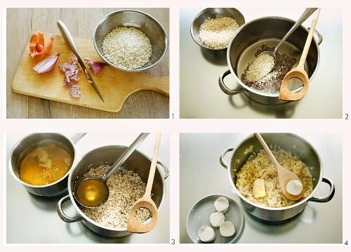 Creamy risotto: basic recipe