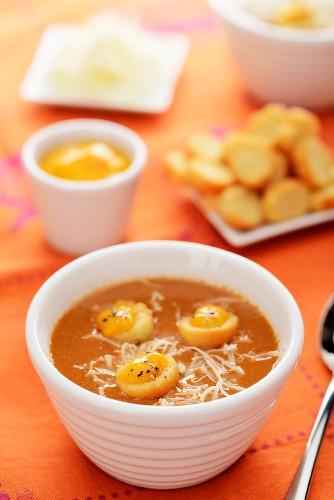 Fischsuppe mit Rouille