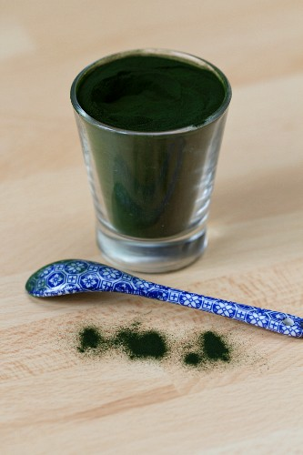 Chlorella (freshwater algae), powdered
