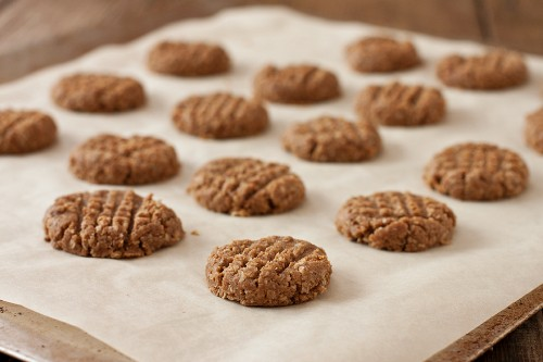 Three Ingredient Homemade Almond Butter Dog Biscuits