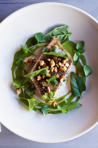 Trout Amandine with Sorrel