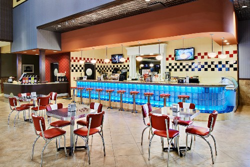 Diner in Movie Theater