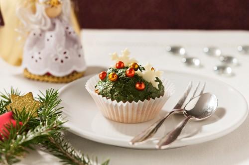 Cupcake for Christmas