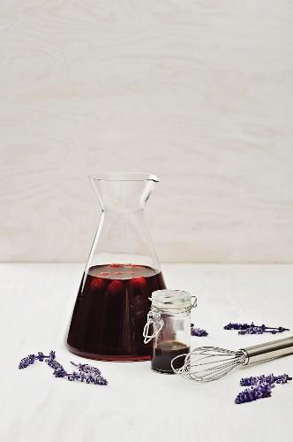 Raspberry and balsamic dressing