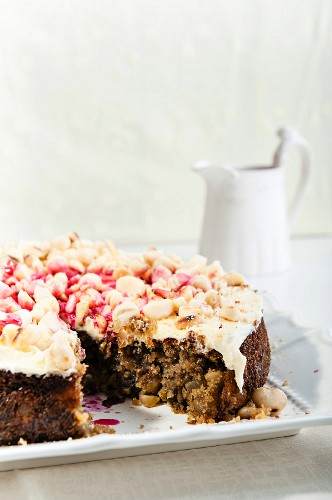 Ananans-Rote Bete-Kuchen