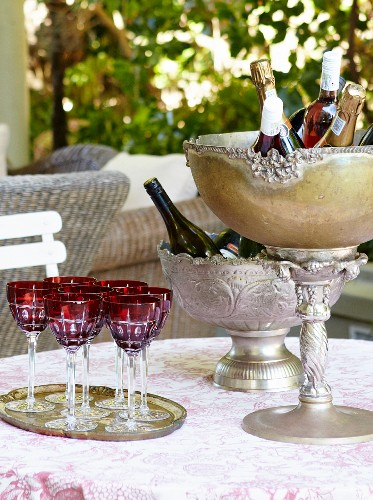 An aperitif for guests
