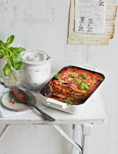 Parmigiana di Melanzane (aubergine bake, Southern Italy)