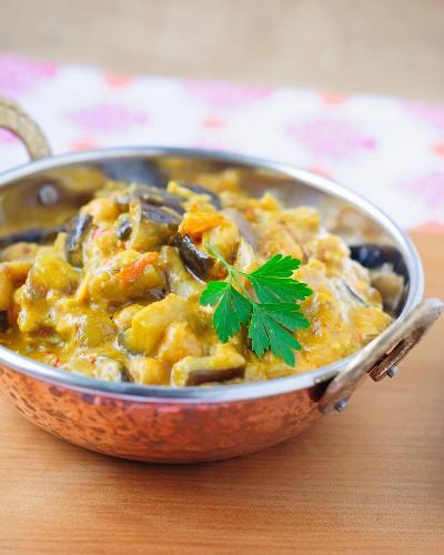 Aubergine curry (India)
