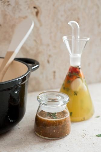 Spiced vinegar from the Caribbean