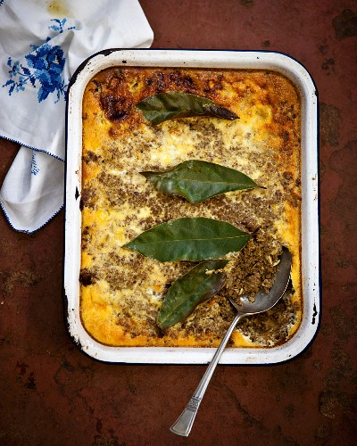 Bobotie (Mince dish, South Africa)