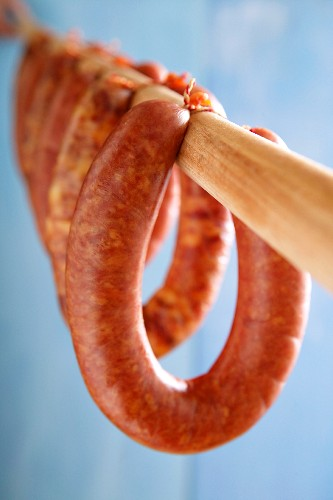 Rookworst (course ring sausage, Netherlands)