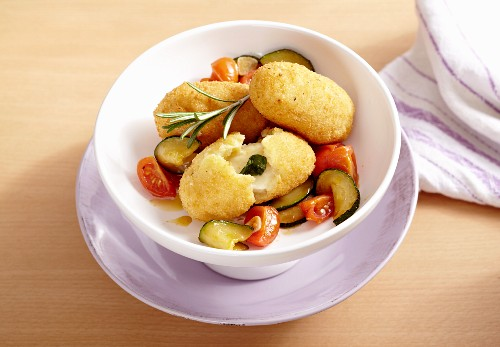 Roman rice croquettes