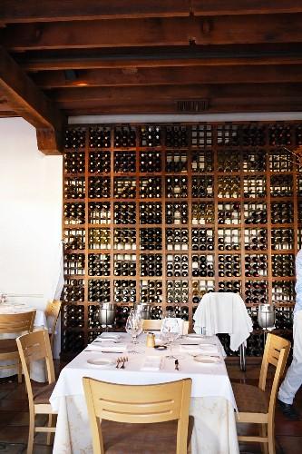 Large wine rack