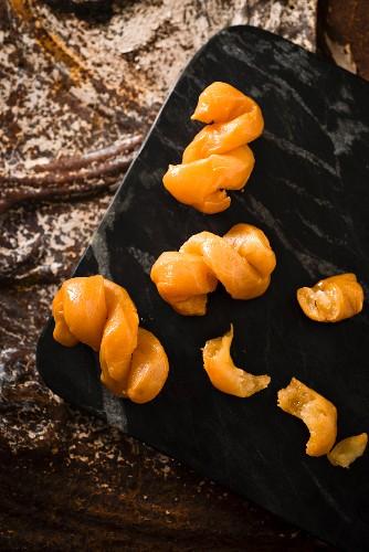 Koeksisters (Zopfgebäck mit Sirup, Südafrika)