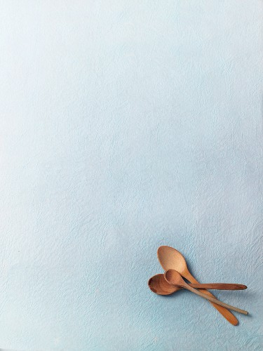 Three wooden spoons