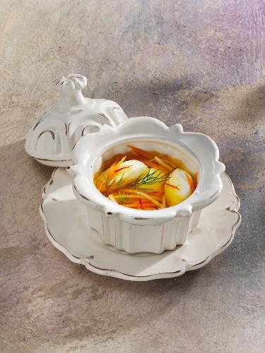 Teterow hake soup (Mecklenburg-Western Pomerania, Germany)