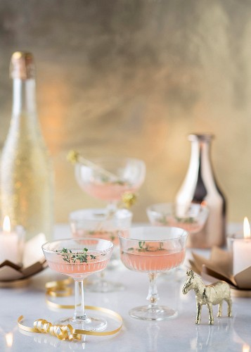 Pink Christmas punch