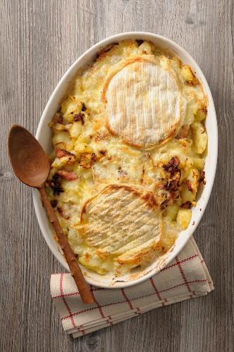 Tartiflette (potato bake with Reblochon cheese, France)