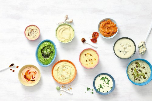 Dips with Mayonnaise