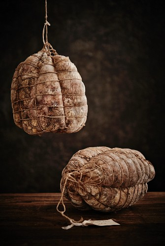 Culatello ham from Italy