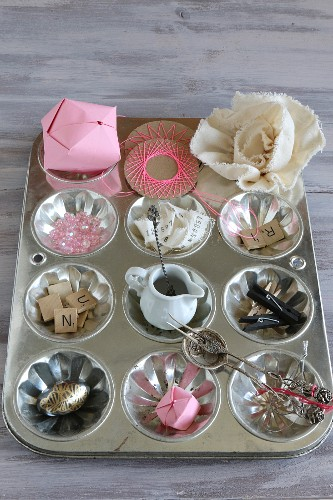 An original idea for sorting and craft utensils