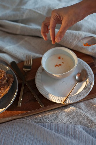 Frühstück im Bett: French Toast mit Zimt und Zitrusjoghurt