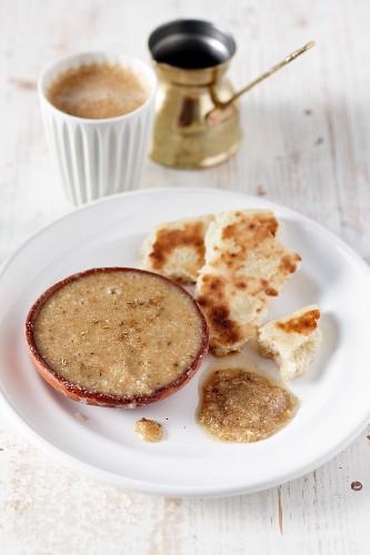 Amlou (sweet spread, Morocco)