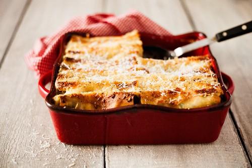 Cannelloni mit Hähnchenfleischfüllung