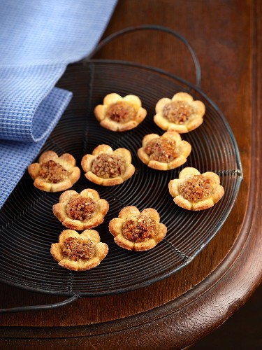 Bredele (Alsace Christmas biscuits) with hazelnuts