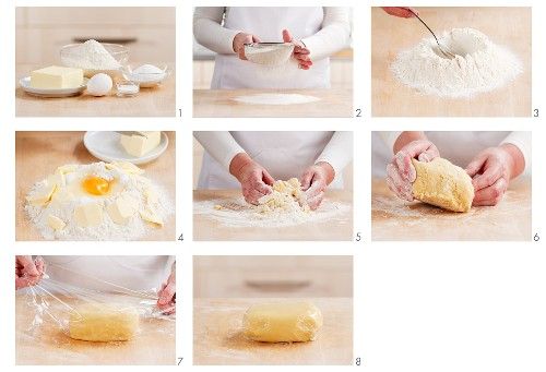 Making sweet pastry