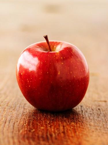 A Fuji apple