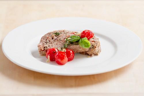 Mediterranean-style meat loaf