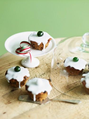 Mini Christmas Cakes (England)