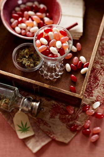 Jelly Beans Infused with Marijuana