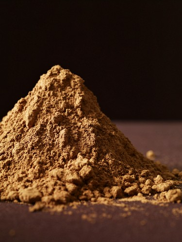 Pile of Cocoa Powder