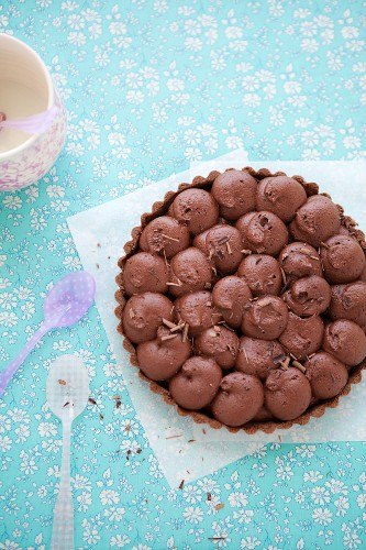 Gluten-free chocolate and tahini cake
