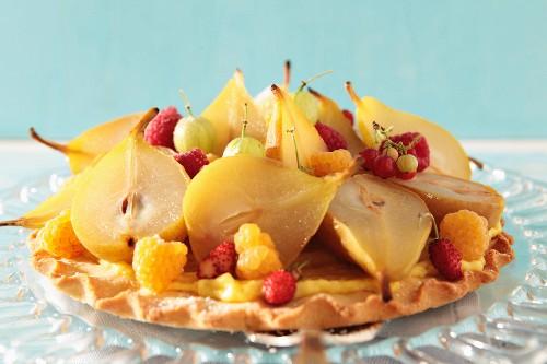 A fruit tart