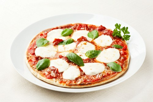 Whole Basil Cheese Pizza